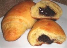 Chocolate-Filled Cornetti