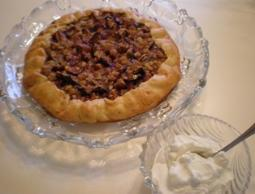 Fig Crunch Galette