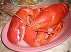 Steamed Lobster with Herb Butter