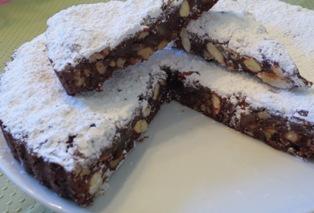 panforte panforte di siena - Italian Christmas Desserts