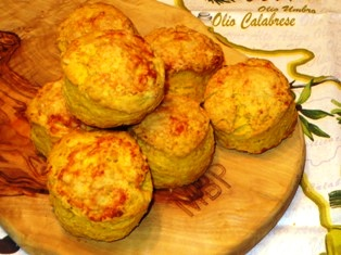 Pumpkin Parmesan Biscuits