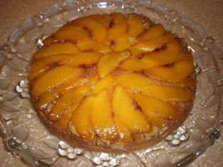 Peach Amaretto Cake