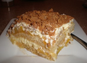 Peach Tiramisu; A variation of the classic tiramisu recipe
