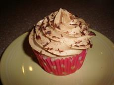 Cupcake with Peanut Butter Icing