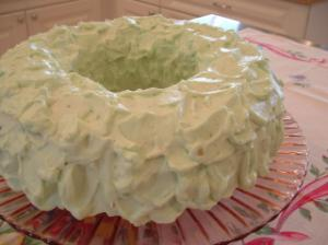 Pistachio Whipped Cream Cake