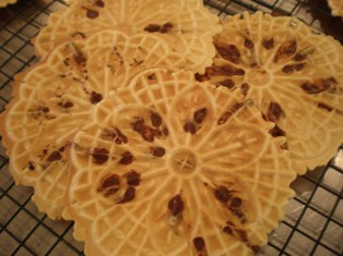 Chocolate Chip Pizzelle