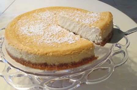 Ricotta Cheesecake Recipe >>