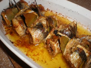 Traditional italian fish dishes