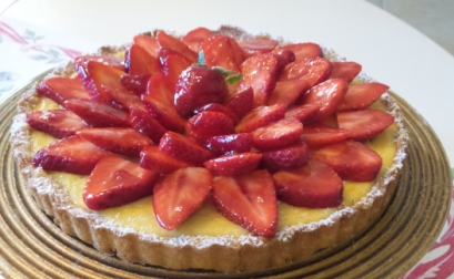 ... ricotta and strawberry s and wich roasted strawberry and ricotta tart