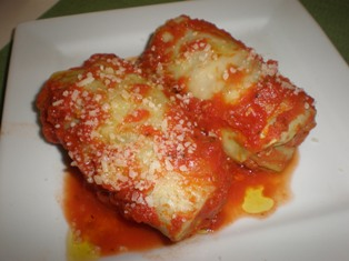 Our recipe for Italian stuffed cabbage has a veal, Italian sausage ...
