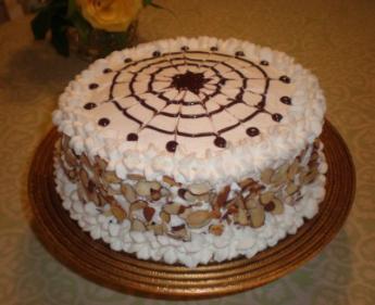 Italian Rum Birthday Cake